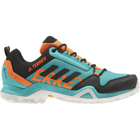 adidas TERREX AX3 Gore-Tex Wandelschoenen Waterbestendig Heren, hi-res aqua/core black/grey one